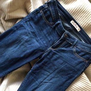 Hollister Dark Wash Jean Legging